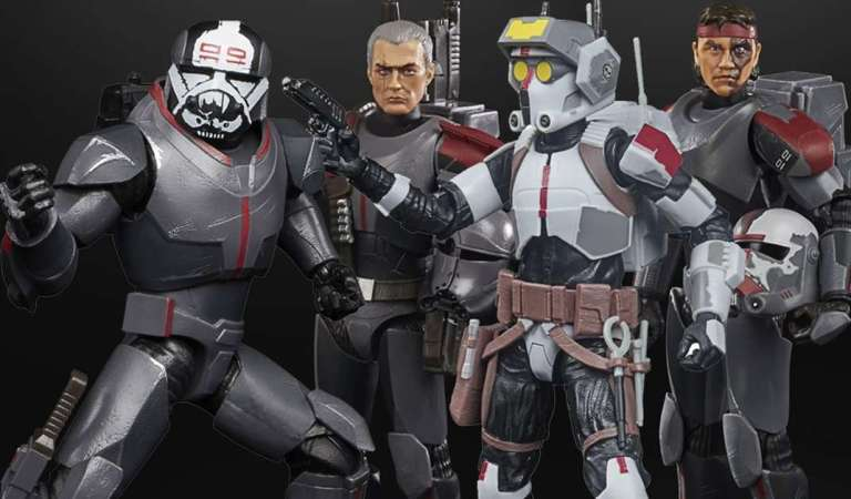 Hasbro presenta las primeras figuras de 'The Bad Batch' por el día de Star Wars