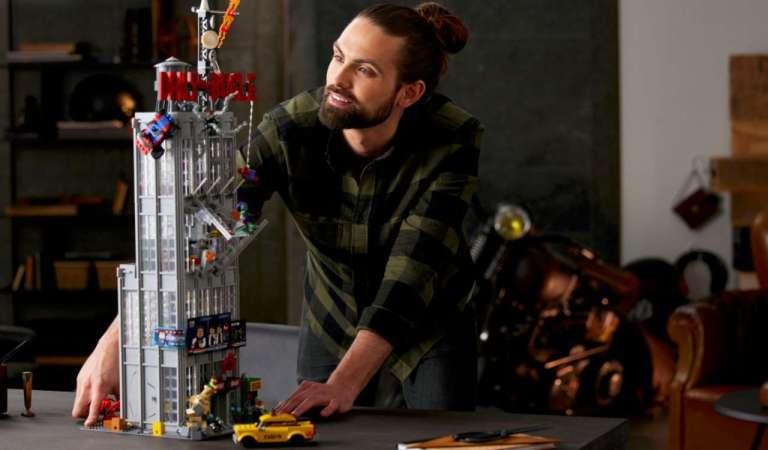 LEGO anuncia el set más grande de Marvel: LEGO Daily Bugle