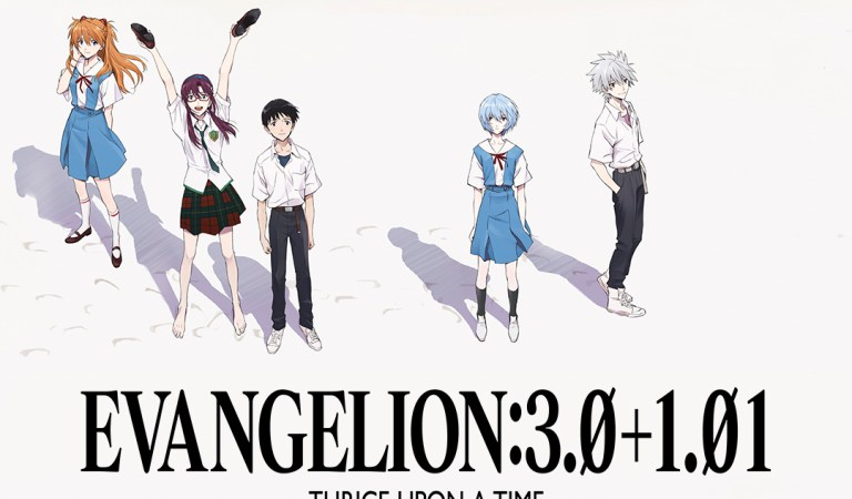 Evangelion: 3.0 + 1.01 Thrice Upon a Time llegará a Prime Video
