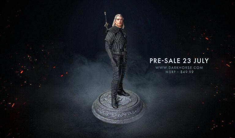 Presentan figura coleccionable de Geralt de The Witcher