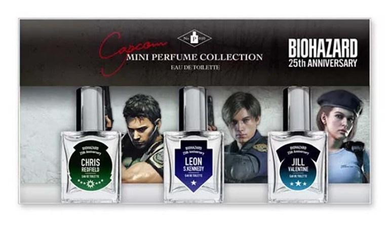 Capcom lanzó tres perfumes inspirados en Resident Evil