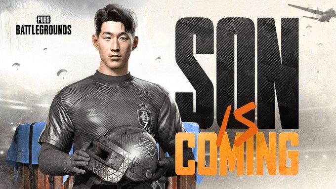 El jugador de fútbol Son Heung-min llega a PUBG: BATTLEGROUNDS