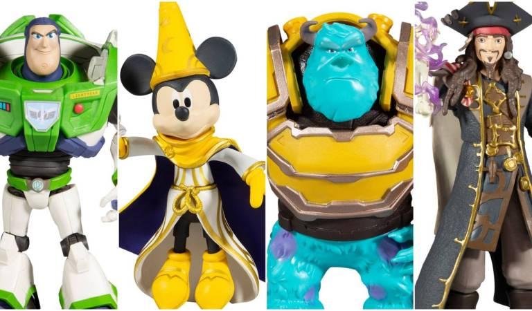 McFarlane Toys presentó una wave de figuras de Disney Mirrorverse
