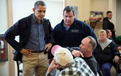 Christie, Hillary and Obama