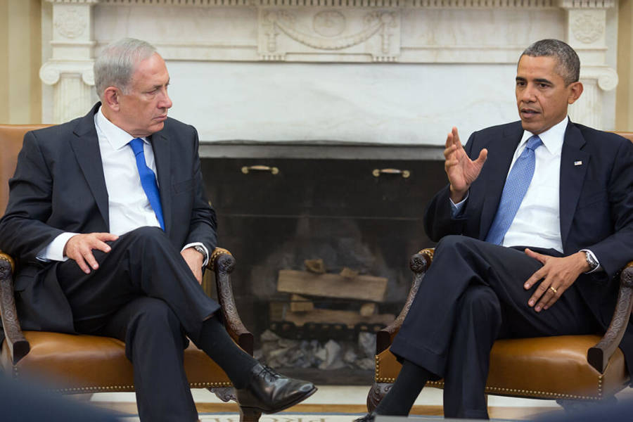 Obama Stomps His Foot Over Netanyahu