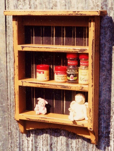 Your new spice rack will hold all your favorite flavorings, like Ground Bunny and Extract of Cherub