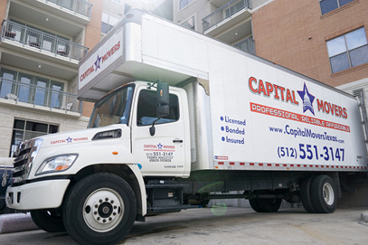 Capital-Movers-Texas-Moving-Truck