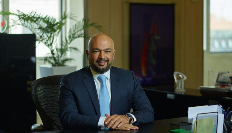 حازم متولي الرئيس التنفيذى لشركة اتصالات مصر