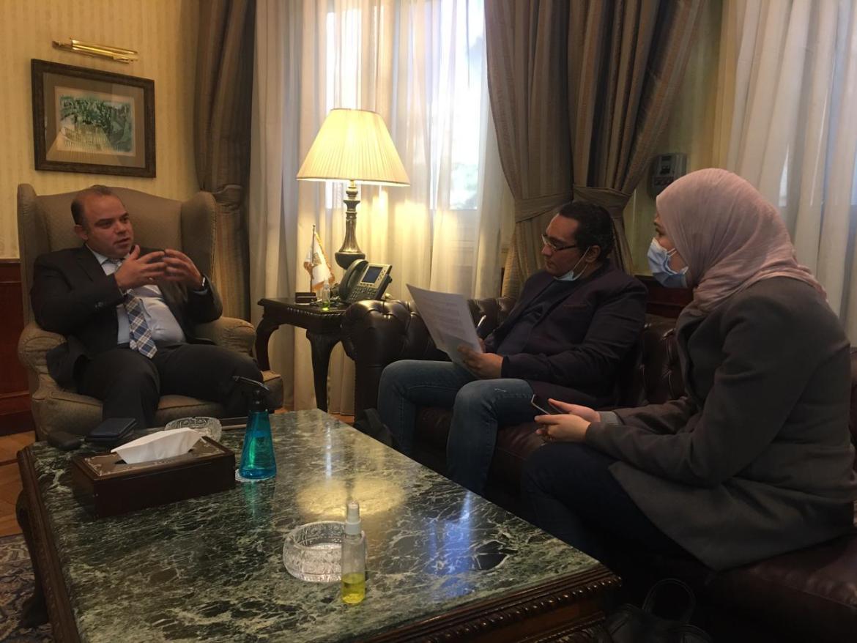 الدكتور محمد فريد خلال حواره مع كابيتال