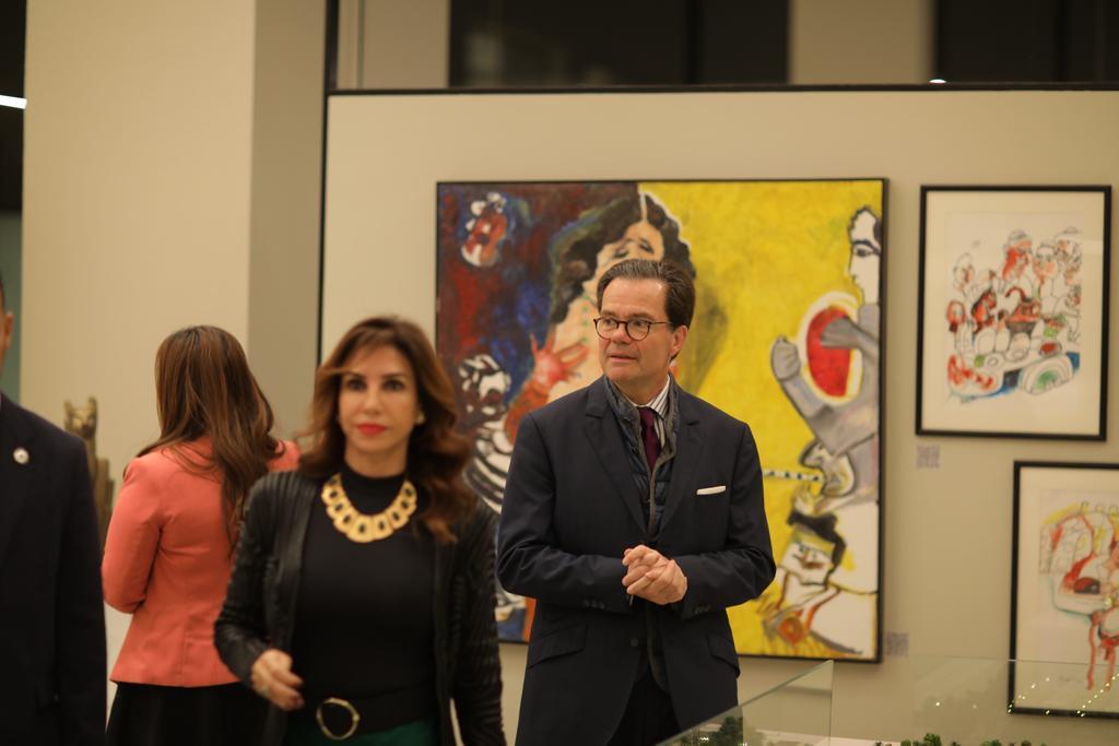 """""""إعمار مصر"""" تستضيف معرض Art and Deco للوحات الفنية في """"أب تاون كايرو"""""""