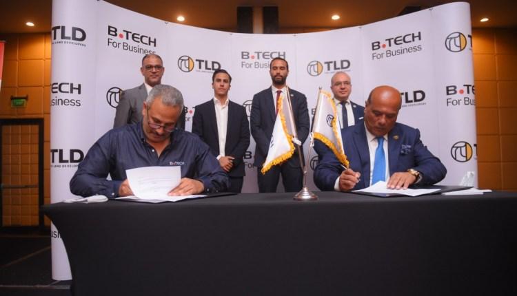 """""""بي تك"""" توقع بروتوكول تعاون مع """"تي ال دي - ذا لاند ديفيلوبرز"""" لتقديم خدمات مميزة للعملاء"""