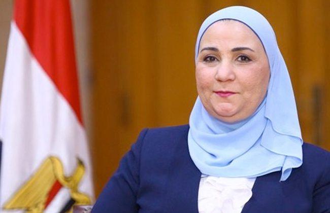 نيفين قباج وزيرة التضامن