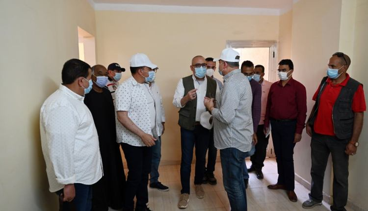 الإسكان: الانتهاء من تنفيذذ 144 وحدة سكنية بمشروع تطوير منطقة الصحابى باسوان