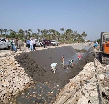 الرى: الانتهاء من تأهيل وتنفيذ وتوفير الاعتمادات لـ ٨٢٢٦ كيلومتر من الترع