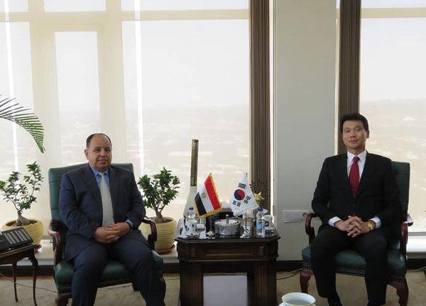 مصر وكوريا الجنوبية سبل زيادة الإستثمارات الكورية فى السندات المصرية