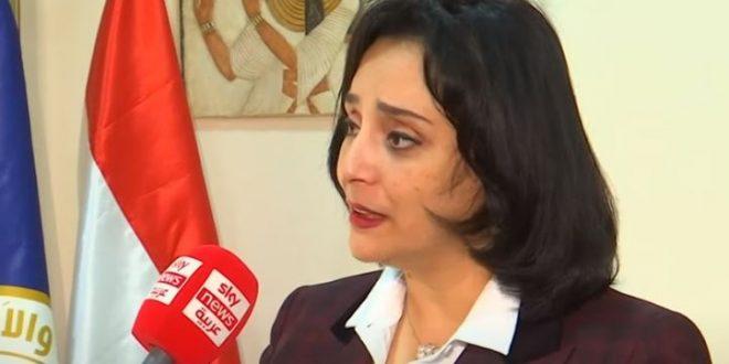 غادة شلبي نائبة وزير السياحة والآثار في مصر