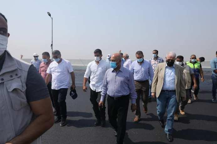 وزير النقل يتابع معدلات تنفيذ مشروع التطوير الشامل للطريق الدائرى حول القاهرة الكبرى