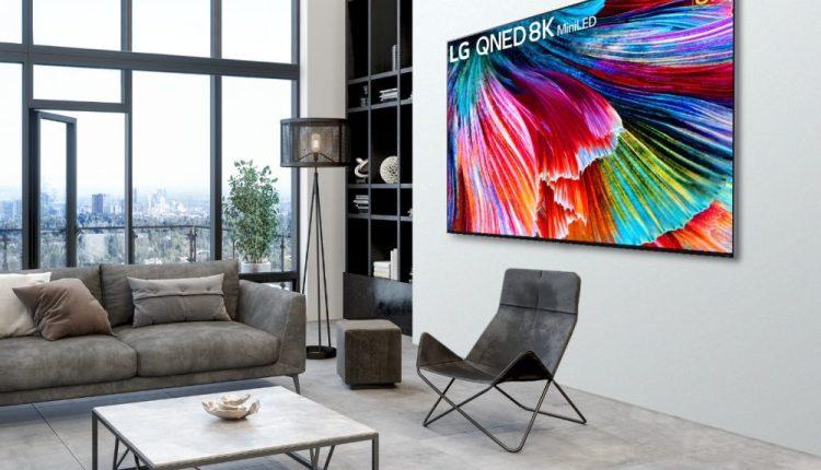 """إل جي تطلق تليفزيون """"QNED Mini"""" المدعم بتقنيات الذكاء الاصطناعي المتعددة"""