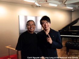Canh Nguyen with Lang Lang