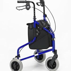 Days 240L Lightweight Aluminium Folding 3 Wheel Tri Walker