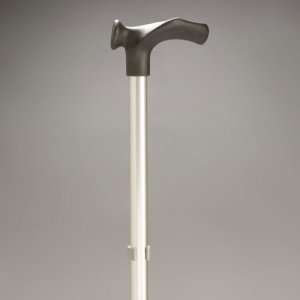 Walking Stick Adjustable Rehab Moulded Handle Right hand