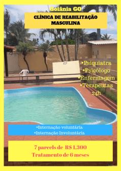 Clínica de reabilitação em Goiânia