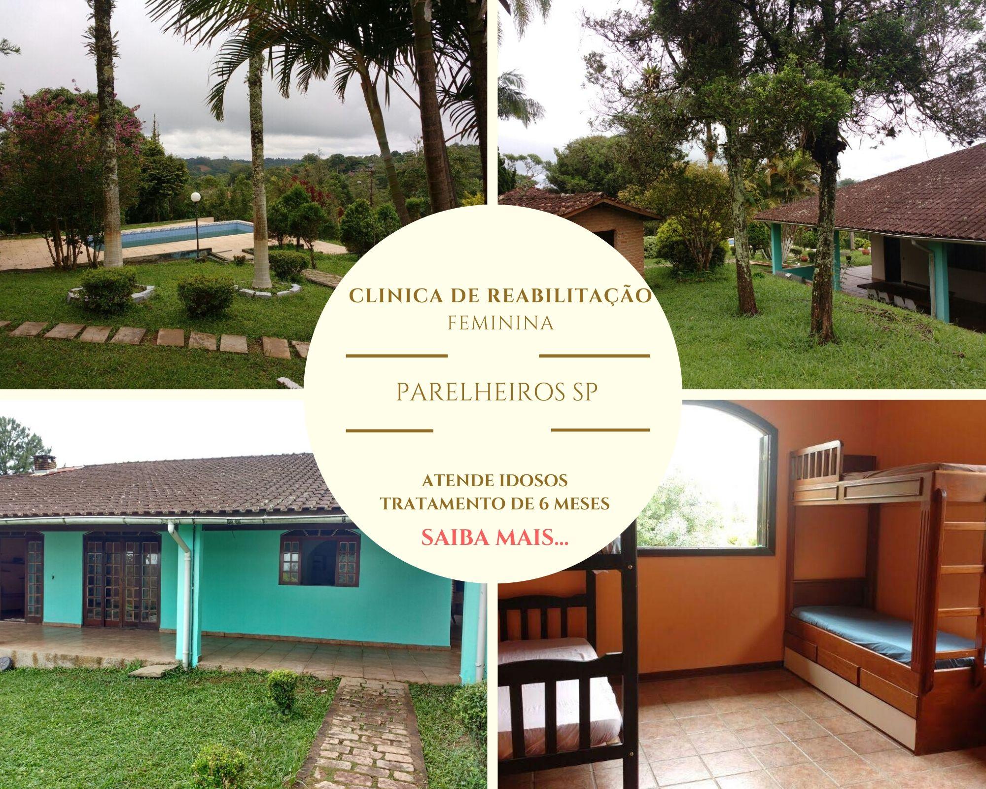 Clinica de recuperação feminina em São Paulo - Parelheiros SP