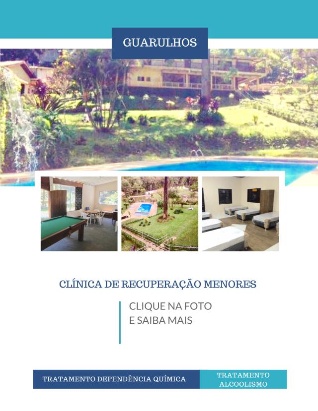 Clínicas de recuperação em São Paulo - Menores - Guarulhos