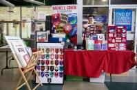 Rachel Cohen sells her hockey art!