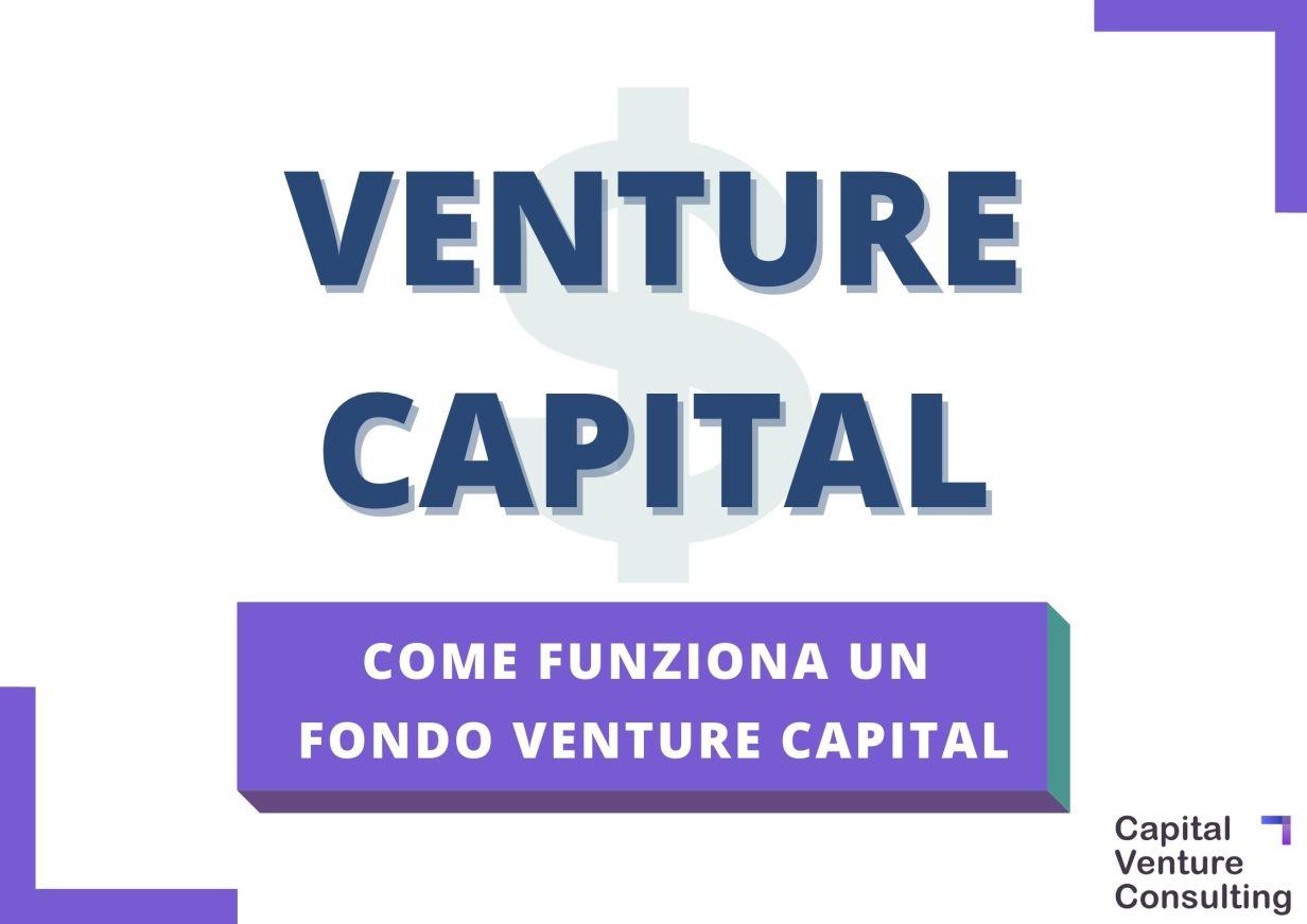 Come funziona Venture Capital