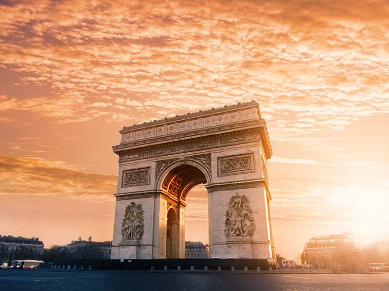 Arco do Triumfo em Paris