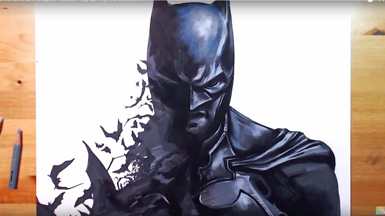 Dibujando a Batman de Arkham Origins