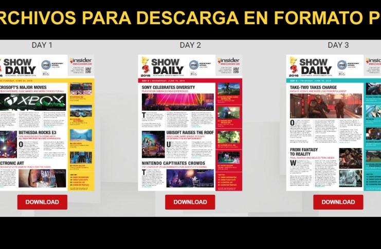 Show Daily E3 2016