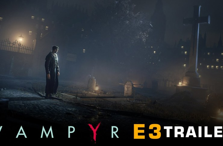 Vampyr E3 2016 trailer