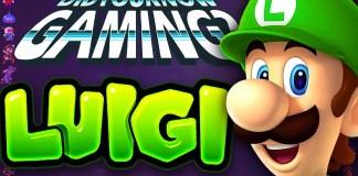 X Sabías que! detalles acerca de Luigi