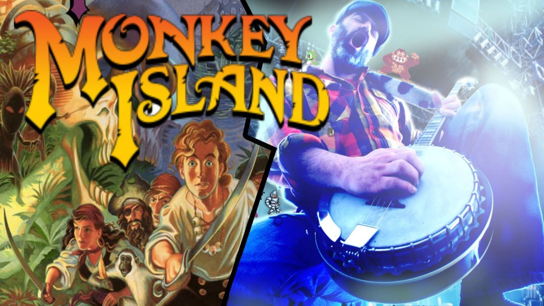 Monkey Island cover por Banjo Guy Ollie