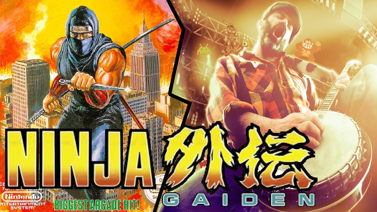 Ninja Gaiden Unbreakable Determination (pantalla 4-2) Banjo cover