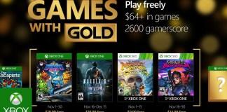 Games with Gold para nobiembre de 2016