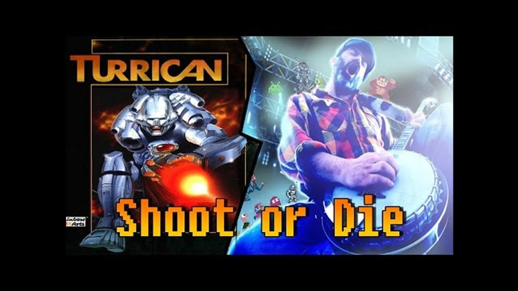 Turrican Shoot or Die cover interpretado por BanjoGuyOllie