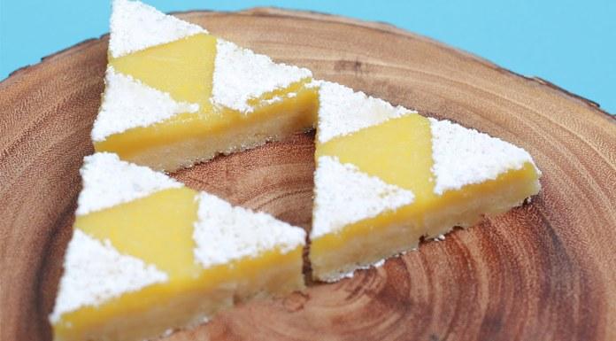 Zelda Triforce barras de limón