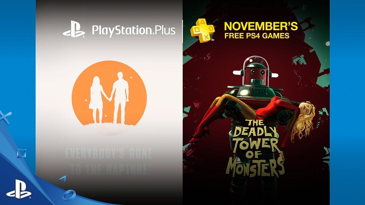 PlayStation Plus de noviembre de 2016