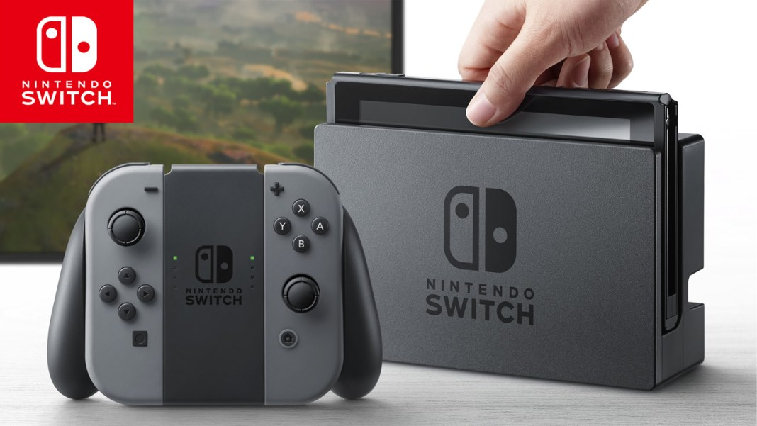 Nintendo Switch presentación realizada el 12 de enero de 2017