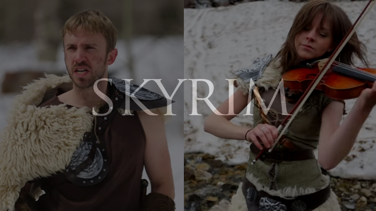 Skyrim interpretado por Lindsey Stirling & Peter Hollens