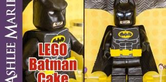 Cómo hacer un pastel de Lego Batman