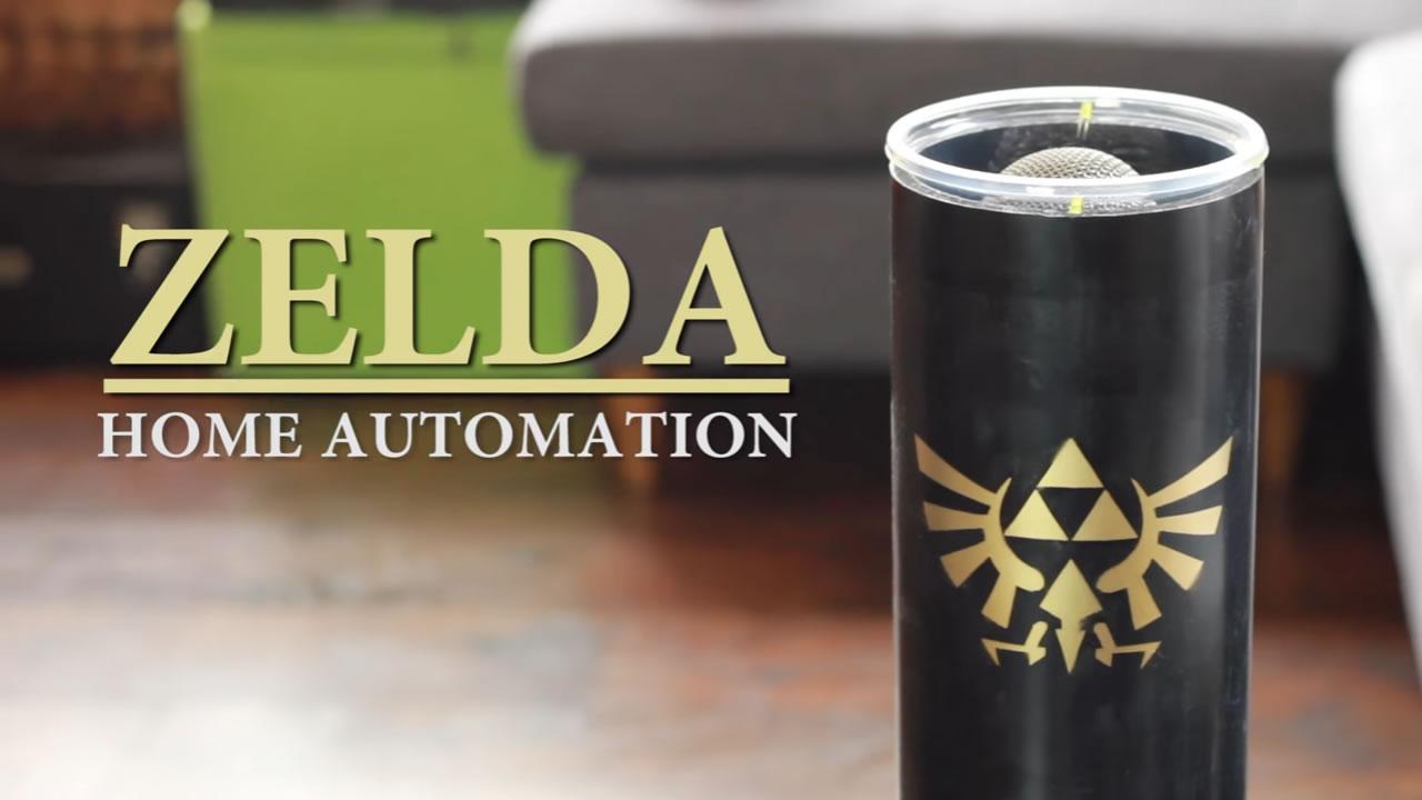 Controla su casa con la Ocarina de Zelda