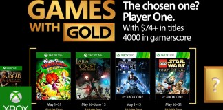 Games with Gold para Mayo de 2017