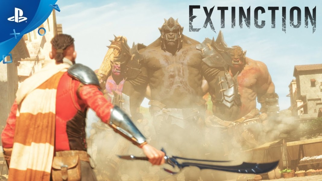 Extinction trailer Cinematico presentado durante E3 2017