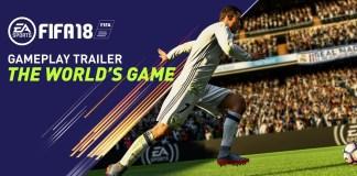 Nuevo trailer de FIFA 18 The Worlds Game - E3 2017