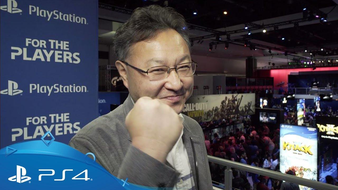 Shuhei Yoshida nos lleva de tour