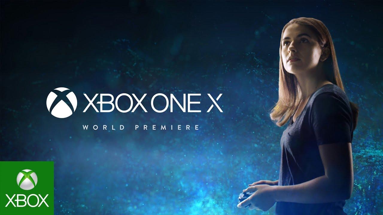 Xbox One X será el nombre de la nueva consola de Microsoft